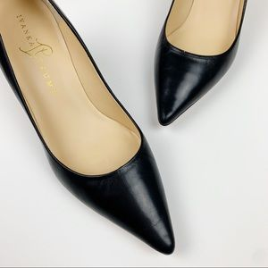 Ivanka Trump Indico Pumps Black Leather 7
